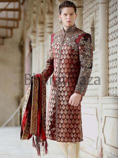 Princely Look Groom Sherwani