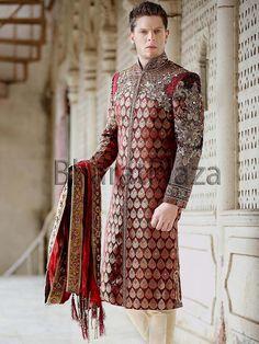 Princely Look Groom Sherwani