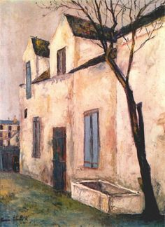 Maurice Utrillo(1883-1955)  -    The Debray farm