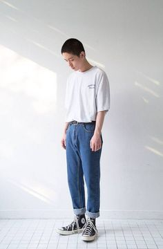 Moda jeans mujer fashion 62 Ideas for 2019 90s Fashion, Korean Fashion, Vintage Fashion, Normcore Fashion, Style Fashion, Style Streetwear, Streetwear Fashion, Japanese Streetwear, 90s Outfit Men