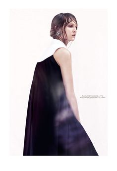 theres alexandersson7 Honer Akrawi Captures Theres Alexandersson in Darkly Romantic Looks for Eurowoman