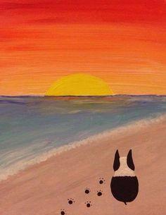 Miri, paint me this… – Frenchi, Batpig, French Bulldog – hund Boston Terrier Art, Boston Art, Dog Art, Painted Rocks, Best Dogs, Cute Dogs, Cute Animals, Artsy, Poster
