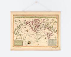 Piękne mapy do druku w dużych rozmiarach: retro, nieba, aktualne śwata i inne. Genialna strona z setkami niezwykłych plików do pobrania! • MAVELO