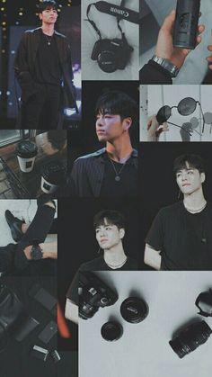 Koo Jun Hoe, Kim Jinhwan, Aesthetic Lockscreens, Ikon Wallpaper, Taemin, My Boyfriend, Aesthetic Wallpapers, My Idol, Backgrounds