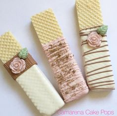 Wafer chocolate covered