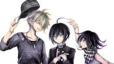 Rantaro Amami, Saihara Shuichi and Oma Kokichi //DanganRonpa V3 Killing Harmony