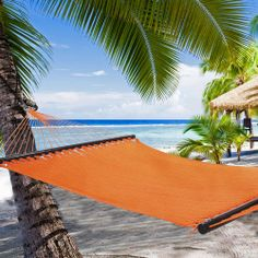 New Arrivals at the Hammock Company!  Caribbean Style Hammocks by Sunset Orange Caribbean Style Hammock by Tropic Island Hammocks are brand new and make a great spot to kick back and relax! Available in 9 bright and beautiful colors.