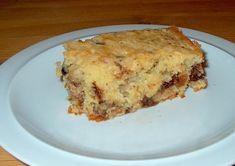 Lækker kage med chokolade, kokosmel, mandler og rosiner., Danmark,Andet, Lækkeri, Bagværk, opskrift