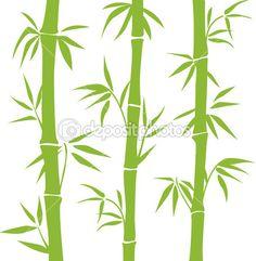 Bambú — Vector de stock © ColorValley #5419678