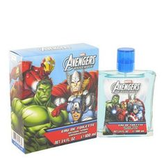 Kid Avengers Assemble FOR MEN by Marvel - 3.4 oz EDT Spray >>> To view further, visit