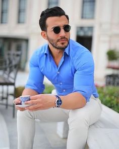 mens fashion casual looks great 12190 Latest Mens Fashion, Mens Fashion Suits, Mens Suits, New Look Fashion, Style Casual, Men Casual, Style Costume Homme, Costume Sexy, Formal Men Outfit
