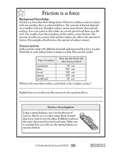 Newtons Laws  Motion  Forces  Friction  Gravity worksheet