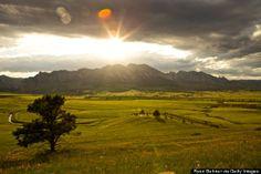 The Flatirons, Boulder, Colorado   Mountains More Fun To View Than Actually Climb