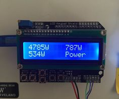 Simple 3 Phase Arduino Energy Meter