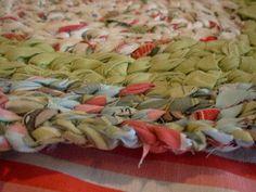 Como hacer alfombras de tela