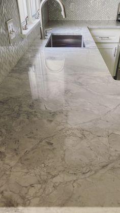 Quartz Bathroom Countertops, White Quartzite Countertops, Carrara Marble Countertop, New Countertops, Super White Quartzite, Stone Slab, Painting Cabinets, New Homes, Counter Tops