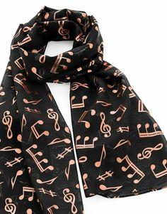 Scarf Geometric Wrap-satin-Black white-stunning stripes Op-Art 50x160cm-gift  F
