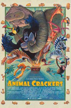 Animal  Crackers Poster by ssava.deviantart.com on @DeviantArt