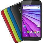 Smartphone Motorola Moto G ( 3ª Geração ) Colors HDTV Edição Especial Dual Chip Android Tela 5  16GB 4G Câmera 13MP  Preto  1 Capa Cherry    ID 217293753  Americanas.com