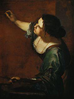 Artemisia Gentileschi, born on July 8, 1593.