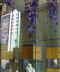 Mikimoto Window Display Spring 2012 by JM Visuals, New York