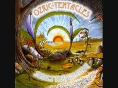 "Ozric Tentacles - Space Out from the album ""Swirly Termination"" - Ed Wynne / guitar, keyboards - John Egan / flute, vocals - Zia Geelani / bass - Seaw. Tentacle, Music Albums, Cover Art, Album Covers, Musicians, Youtube, Painting, Seaweed, Flute"