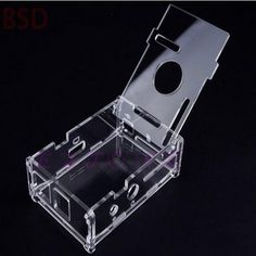 Clear Transparent Acrylic Case Shell Enclosure Computer Box Kit For Raspberry Pi