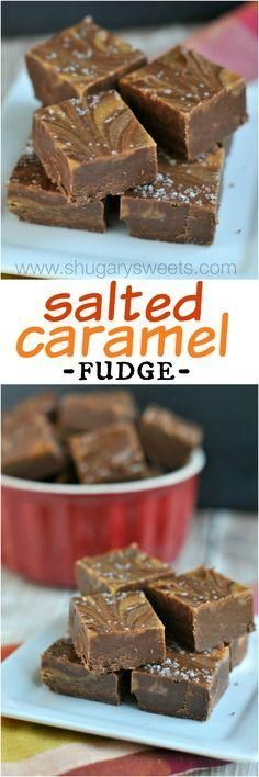 Salted Caramel Mocha Fudge