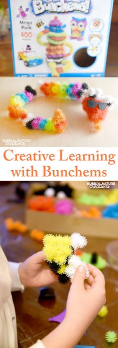 Creative Learning with Bunchems! Fun toy that kids love for Christmas #Bunchems #CG #sponsored