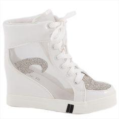 Sneakers dama cu siret 029-5A - Reducere 58% - Zibra