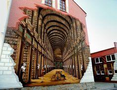 Impresionantes murales callejeros con los libros como protagonistas. Wall painting and books ¿Quieres ver más? Pincha en la imagen...