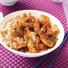 This recipe has a kick! Sweet-and-Spicy Chicken Stir-Fry is great for a weeknight when you want to get something flavorful and delicious on the table quickly.