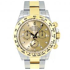 View the Rolex Daytona in steel & yellow gold with black dial 116503 today at Global Watch Shop. Experience the finest service with GWS. Rolex Daytona Steel, Rolex Daytona Stainless Steel, Rolex Daytona Watch, Gold Water, Rolex Watches For Men, Cost Of Goods, Stylish Watches, Stylish Men, Gold Champagne