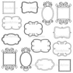 Find Vector Set Unfilled Doodle Frames Borders stock images in HD and millions of other royalty-free stock photos, illustrations and vectors in the Shutterstock collection. Bullet Journal Frames, Hand Drawn Border, Watercolor Hand Lettering, Line Doodles, Doodle Frames, Chalk Wall, Wall Drawing, Drawing Frames, Doodle Icon