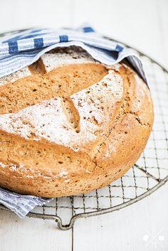 Dinkel Roggen Brot ohne Milch mit Sauerteig von Alnatura, schnelles Brot für jeden Tag | relleomein.de