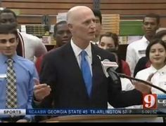 """Governor Scott announced his proposal to eliminate the sales tax on college textbooks as part of his """"KEEP FLORIDA WORKING"""" budget. The price of college textbooks has continued to increase, often exceeding $100 per book.  Eliminating this sales tax is expected to save Florida's students $41.4 million per year. It is estimated that a student taking five courses per semester will save at a minimum $60 per year."""