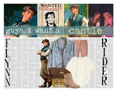 """""""Battle of the Disney Babes: Hunks Edition- Round 1: Meet Me"""" by hp4ever15 ❤ liked on Polyvore"""