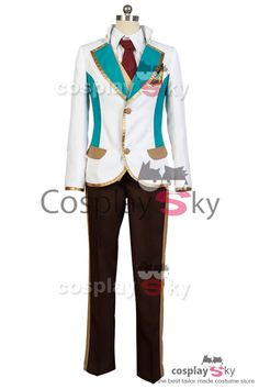 High School Star Musical Toru Nayuki Cosplay Costume-1