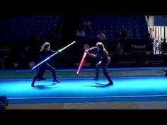 Star Wars duel on Fencing World Championships. BEST SOUND - YouTube