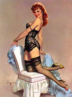 vintage black lingerie