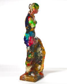 Title: Venus de Milo Peluche Artist: Alben #gallerynine5 #Alben #Accumulation #sculpture #mixedmedia #resin #VenusdeMilo