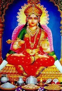 Goddess Annapurna Devi Is The Hindu Goddess Of Foodshe Is Depicted