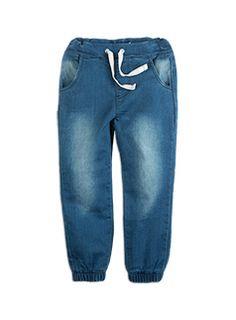 Toddler Girls Knit Denim Jeans Indigo Denim jeans