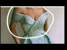 How to make cape for overlapping double breasted off shoulder blouse ( EASY) Wedding Dress Sewing Patterns, Girl Dress Patterns, Blouse Patterns, Clothing Patterns, Bodice Pattern, Stitching Dresses, Kurti Neck Designs, Dress Tutorials, Fashion Sewing