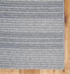 Madison Stripe Wool Blend Rug - | Rejuvenation