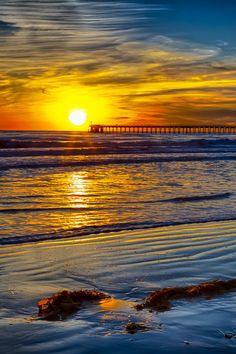 Sunset at Haskell's Beach, Santa Barbara near the Bacara Resort, California (by Rob Laskin on 500px)