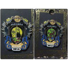 Hard Rock Pin Jakarta Indonesia Limited Edition 2015 Calender Series Pin 2015 January