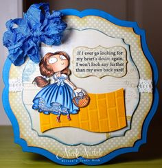 Nicole's Craft Nook: Follow the Yellow Brick Road !! -- Kraftin' Kimmie