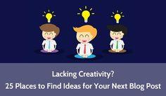 #SocialMedia #code #webdev #webdevelopment Lacking #Creativity? 25 Places to Find Ideas for Your Next Blog Post:  http://pic.twitter.com/93hxqVS7LI   Web Devel0pment (@webimprovenew4u) September 26 2016