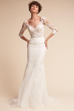 Pique Gown from @BHLDN